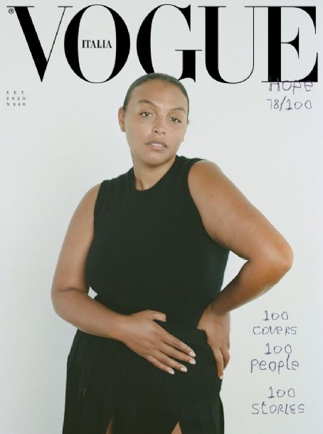 Paloma Elsesser - Vogue Magazine Cover [Italy] (September 2020)