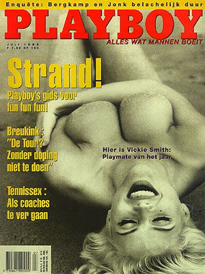 Playboy Magazine Cover [Netherlands] (July 1993)