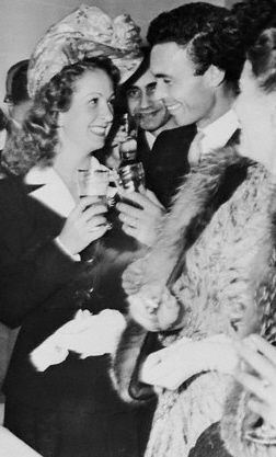 Danielle Darrieux  and Porfirio Rubirosa