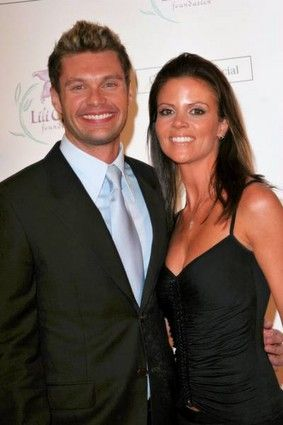 Ryan Seacrest  and Shana Wall