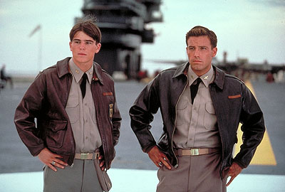 Capt. Rafe McCawley Josh Hartnett and Ben Affleck in Touchstone Pictures' Pearl Harbor - 2001