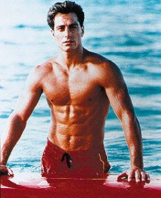 Baywatch Michael Bergin in  (1989)