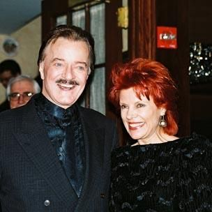 Robert Goulet  and Vera chochorovska Novak