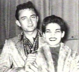 Johnny Cash  and Vivian Liberto