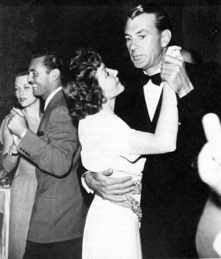 Claudette Colbert  and Gary Cooper