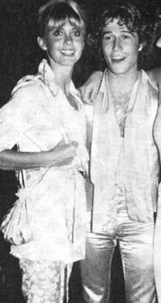 Olivia Newton-John  and Andy Gibb