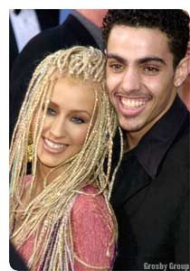Jorge Santos Christina Aguilera and