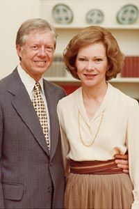 Rosalynn Carter Jimmy Carter and