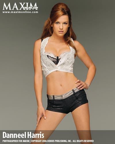 Danneel Ackles Danneel Harris on Maxim