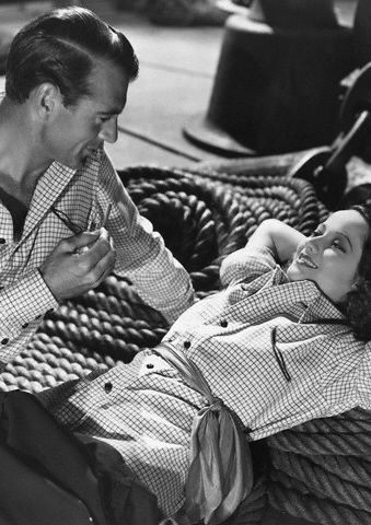 Merle Oberon  and Gary Cooper