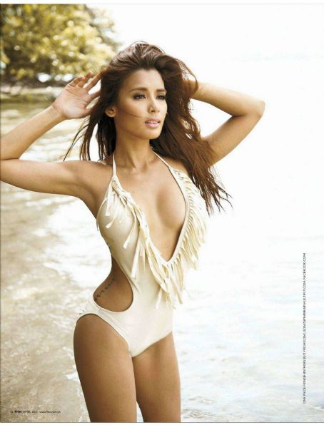 Michelle Madrigal  FHM Philippines April 2012