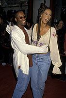 John Singleton  and Tyra Banks