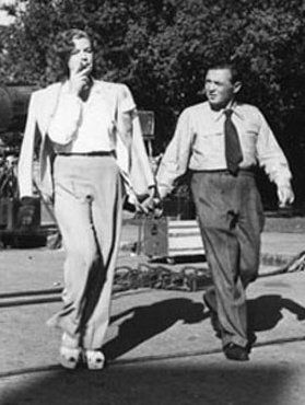 Kaaren Verne  and Peter Lorre