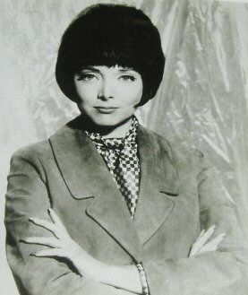 Carolyn Jones  older but still beautiful