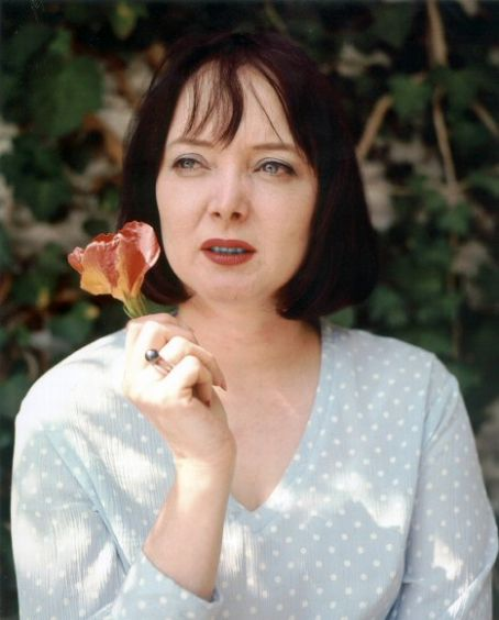 Carolyn Jones  candid moment in the late 1970's