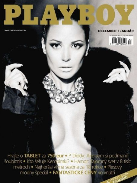 Playboy Magazine Cover [Slovakia] (December 2010)