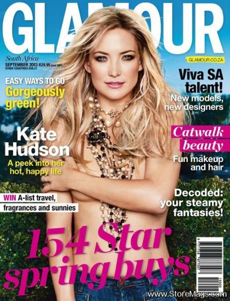 Kate Hudson - Glamour Magazine Cover [South Africa] (September 2013)