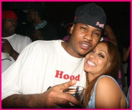 La La Anthony Carmelo Anthony and La La Vasquez
