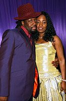 Wyclef Jean  and Marie Claudinette Jean