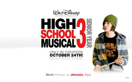 Matt Prokop HIGH SCHOOL MUSICAL 3 SENIOR YEAR Wallpaper