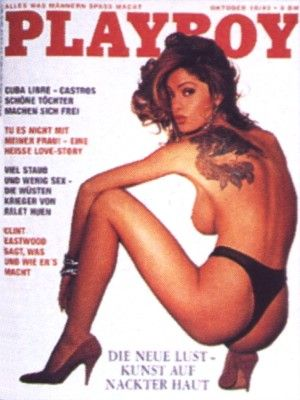 Elisa Laub - Playboy Magazine Cover [Germany] (October 1993)