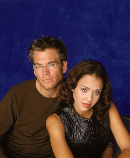Michael Weatherly Jessica Alba and