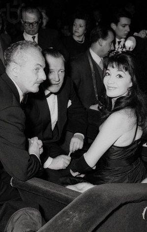 Juliette Gréco Darryl F. Zanuck and Juliette Greco