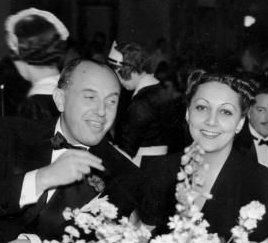 Jack Warner  and Ann Boyer
