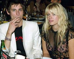 Amanda De Cadenet and Nick Valensi