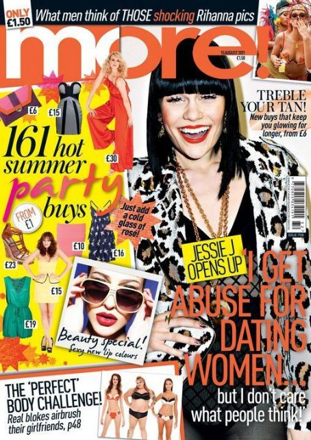 Jessie J - More! Magazine Cover [United Kingdom] (15 August 2011)