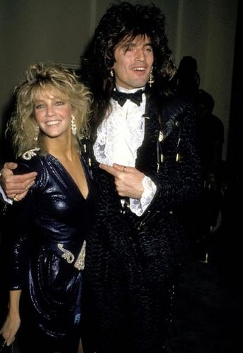 Heather Locklear and Tommy Lee
