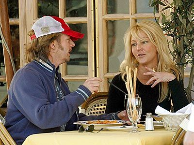 Heather Locklear  and David Spade