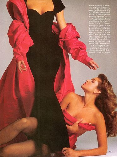 Cindy Crawford - Vogue Magazine Pictorial [United States] (November 1987)
