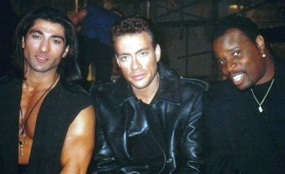 Grand L. Bush Jay Tavare, Jean Claude Van Damme and  at a