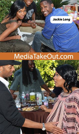 Omar Epps and Keisha Spivey
