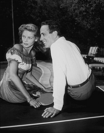 Lauren Bacall  and Humphrey Bogart