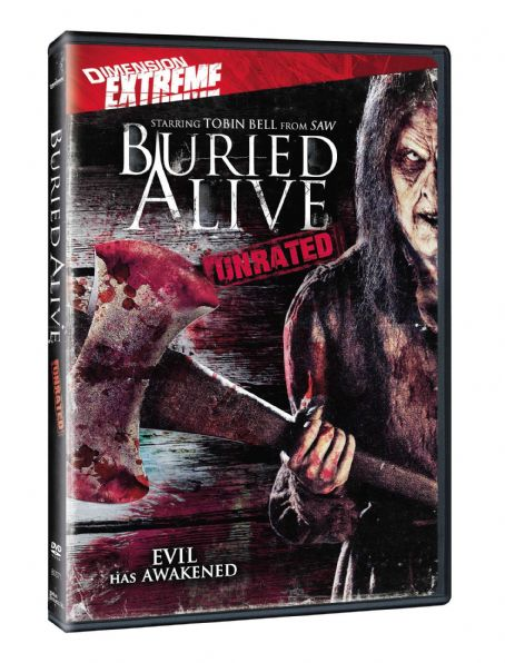 Buried Alive 3D dvd box art.