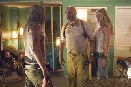 Captain Spaulding Bill Moseley, Sid Haig and Sheri Moon Zombie in The Devil's Rejects. Photo credit: Gene Page