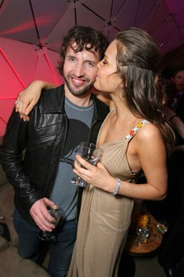 James Blunt Petra Nemcova and