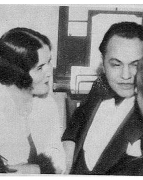 Edward G. Robinson  and Gladys Lloyd