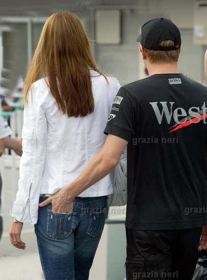 Kimi Räikkönen Kimi Raikkonen and Jenni Dahlman