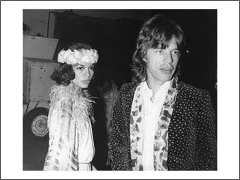 Mick Jagger Bianca Jagger and