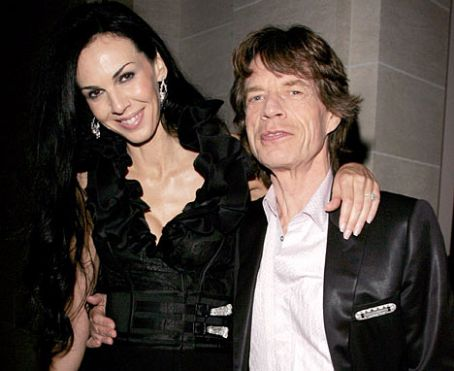 Mick Jagger L'Wren Scott and