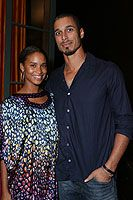 Joy Bryant  and Dave Pope