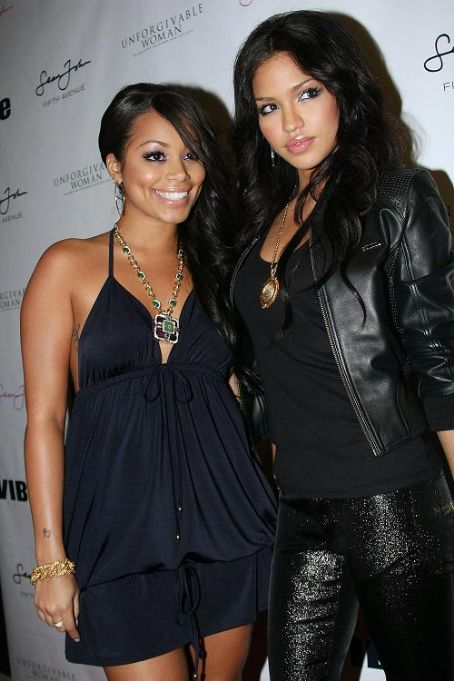 Cassie Ventura Lauren London and Cassie