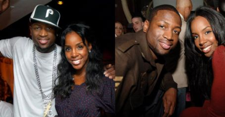 Kelly Rowland  and Dwayne Wade