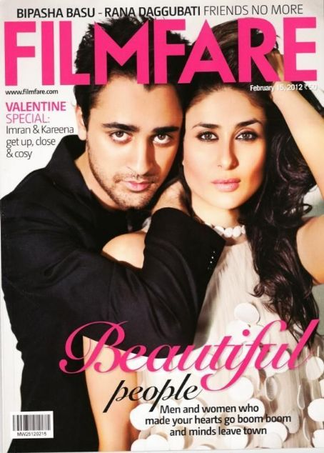 Imran Khan, Kareena Kapoor - Filmfare Magazine Cover [India] (15 February 2012)