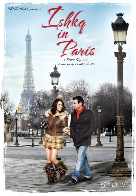 Preity Zinta - Ishkq In Paris Latest New Poster 2012