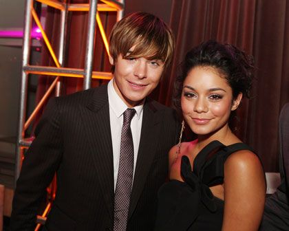 Zac Efron and Vanessa Anne Hudgens Zachary Efron and Vanessa Hudgens