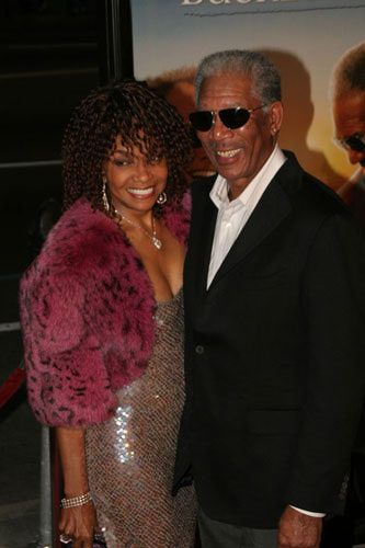 Beverly Todd  and Morgan Freeman